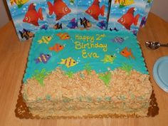 "Fish themed Birthday party.....maybe a sign that Eva's 2nd birthday should be ""fishy"" themed :)"