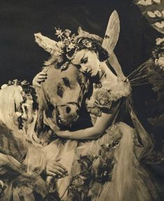 The 1937 Christmas production of Midsummer Night's Dream at the Old Vic, directed by Tyrone Guthrie, with choreography by Ninette de Valois. Vivian Leigh played Titania; Robert Helpmann, Oberon; Ralph Richardson, Bottom, & Gordon Miller, Puck.