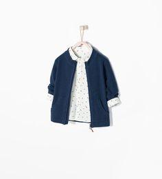 Bild 1 von Jacke mit Reissverschluss Basic von Zara