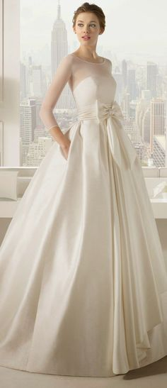 New Arrival White Long Satin Skirts 2016 A Line High Zipper Waist Bow Floor…