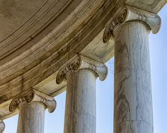 """Columns Detail Jefferson Memorial"" This is a copyright photo. If you wish to purchase this photo or any other of my fine art prints, please visit my website at; www.jerryfornarotto.artistwebsites.com Watermark will be removed from all prints purchased."