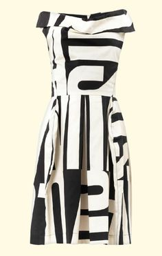 1970's INSPIRED FASHION | Vivienne Westwood 1970's-inspired print dress