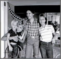 George, Norma and their kids Bubba and Jenifer.  Jenifer was born in 1972 and Bubba in 1981.