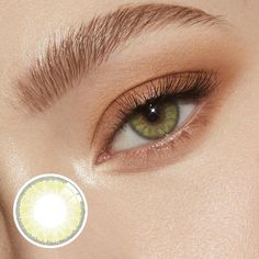 [US Warehouse] Premium Hazel Prescription Yearly Colored Contacts Hazel Eye Contacts, Green Contacts Lenses, Color Contacts, Brown Contact Lenses, Natural Contact Lenses, Hazel Green Eyes, Aqua Eyes, Prescription Contact Lenses, Best Colored Contacts