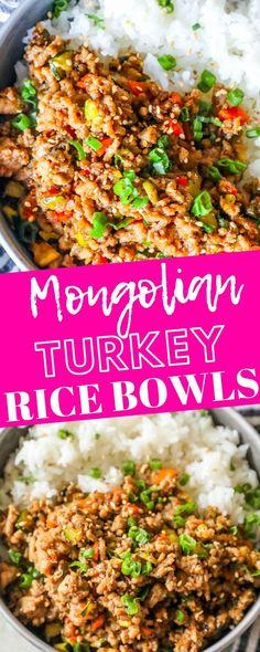 Turkey Bowl, Turkey Dishes, Turkey Mince, Turkey Tacos, Healthy Turkey Recipes, Ground Turkey Meat Recipes, Minced Turkey Recipes, Crockpot Ground Turkey Recipes, Recipes