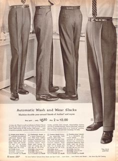 1959 mens trousers