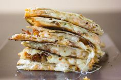 This Easy Quesadilla Recipe is filled with Shrimp, Bacon, Jalapeno, and Gruyere Cheese. You will love these quesadillas with any side item! Bacon Recipes, Shrimp Recipes, My Recipes, Cooking Recipes, Recipies, Fish Recipes, Cooking Time, Chicken Recipes, Favorite Recipes