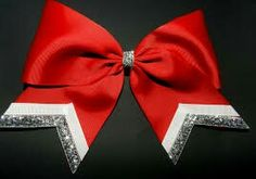 Adorable christmas cheer bow!