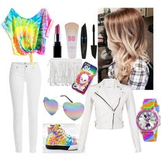 Cute Date #9 by a1is0nj0nk3r1018 on Polyvore featuring IRO, Paige Denim, UNIF, Disney, Full Tilt, Maybelline and Max Factor