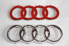 Audi originales rs4 letras cheers tuning emblema Exclusive Black Edition logotipo OEM