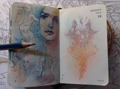 Number 230 of 365 of Kenneth Rocafort's 365 sketch project (2014)