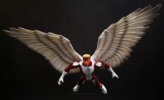 Marvel Legends Sentinel Series Angel // Pinned by: Marvelicious Toys - The Marvel Universe Toy & Collectibles Podcast [ m a r v e l i c i o u s t o y s . c o m ]
