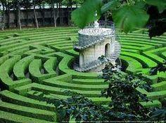 Maze of Villa Pisani, Padova, Italy