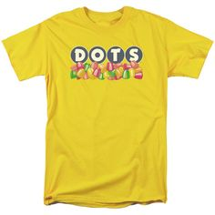 Dots Retro Candy Logo T-Shirt