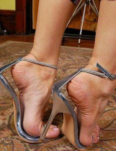 Only Stiletto Sandals Sexy High Heels, Beautiful High Heels, Sexy Legs And Heels, Open Toe High Heels, Gorgeous Feet, Hot Heels, High Heels Stilettos, Stiletto Heels, Feet Soles