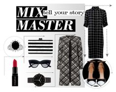 """""""Mix master"""" by ginewwra on Polyvore featuring moda, Ellen Tracy, Givenchy, I Love Ugly, Smashbox, Edie Parker i patternmixing"""