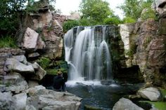 Winnewissa Falls in Pipestone, MN - I love this place. Gone hiking there about 10 times.