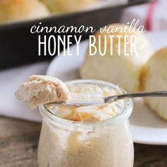 Cinnamon Vanilla Honey Butter
