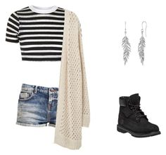"""""""Fall Feelings"""" by rachelsdescription on Polyvore featuring Topshop, Violeta by Mango and Timberland"""