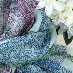 Bad, Modern, Blanket, Vibrant Colors, Red Color, Floral Patterns, Scarves, Linen Fabric, Nice Asses