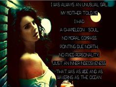 I was always an unusual girl... #LDR