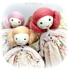 Wooden dolls by Verity Hope | by Verity Hope www.VerityHope.com