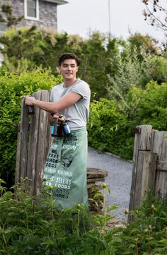 Printed Apron - perfect for Spring Garden partys!