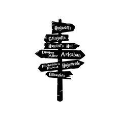 Harry Potter Hogwarts Road graphics design by vectordesign on ...