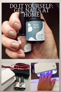 DIY gel nails at home by Belle Gel