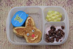 Bento for Kidlet: Bunny pancakes