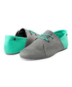 Loving this Gray & Teal Soul Mates Oxford by Volcon, $30 !!   #zulily #zulilyfinds