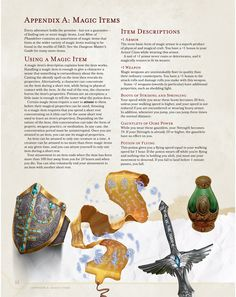 D&D 5th Edition preview. Magic items.