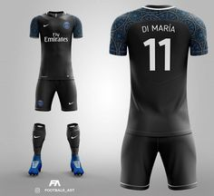 "7,039 curtidas, 93 comentários - Gentlemen FC (@gentlemenfc) no Instagram: ""Paris Saint-Germain away kit concept. Do you like this?  • What team next?  • #PSG #Paris…"" Psg, Football Outfits, Football Shirts, Saint Germain, Premier League Goals, Tri Suit, Football Pitch, What Team, Soccer Uniforms"