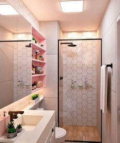 Bathroom Interior Design, Decor Interior Design, Kitchen Interior, Modern Interior, Dressing Room Design, Stylish Bedroom, Hallway Decorating, Decorating Tips, Dream Rooms