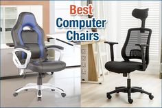 As we live in a very digital age, most people will own at least one computer chair. It doesn't matter whether you have a PC or a laptop, there is a real need for a computer chair that can move freely at a desk. Best Computer Chairs, Gaming Chair, Kitchen Chairs For Sale, Cool Office Desk, Recycled Plastic Adirondack Chairs, Work Chair, Comfortable Office Chair, Big Chair, Used Chairs