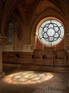 .. stained glass window