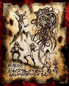 Children of the Black Goat by MrZarono.deviantart.com on @DeviantArt