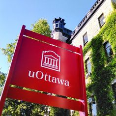 I pin this picture because, this represent the University of Ottawa logo.