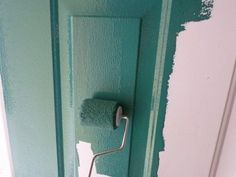 Painting a Steel Door - Tips and Tricks for a Smooth Professional Finish Painted Exterior Doors, Exterior Front Doors, Painted Front Doors, Glass Front Door, Sliding Glass Door, Paint Steel Door, Steel Doors, Painting Metal Doors, Front Door Makeover