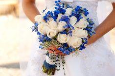 zimowy bukiet niebieski