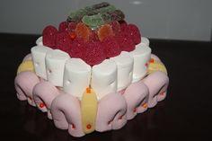 Mini tartas de chuches
