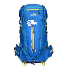 50L Outdoor Sport Backpack Hiking Trekking Bag Camping Travel Water-resistant Pack Mountaineering Climbing Knapsack