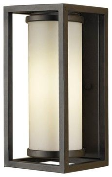 the structure 16 inch outdoor wall light from modern forms is an