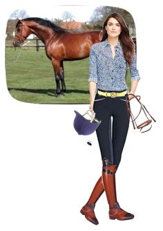 """""""Brooks Brothers & Polo boots"""" by stylemyride ❤ liked on Polyvore"""