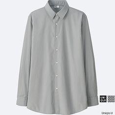 MEN Uniqlo U Extra Fine Cotton Broadcloth Long Sleeve Shirt