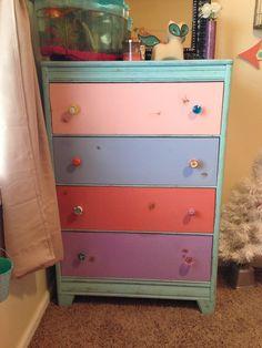 Breckyn's dresser I made her