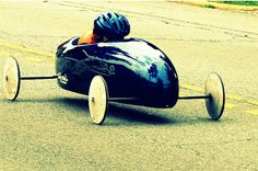 Me racing in the soap box derby
