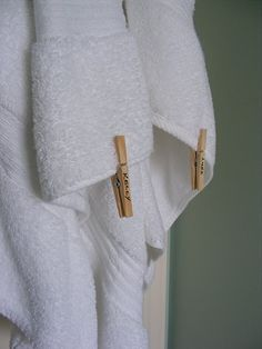 is this my towel? (great idea for the in-laws)