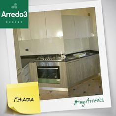 Ecco una nuova #myArredo3! Grazie Chiara per aver condiviso con noi la tua cucina moderna #Arredo3!