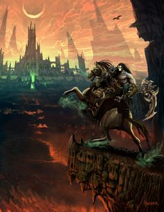 ArtStation - DARKSIDERS 2 - KEY ART, Hal Hefner